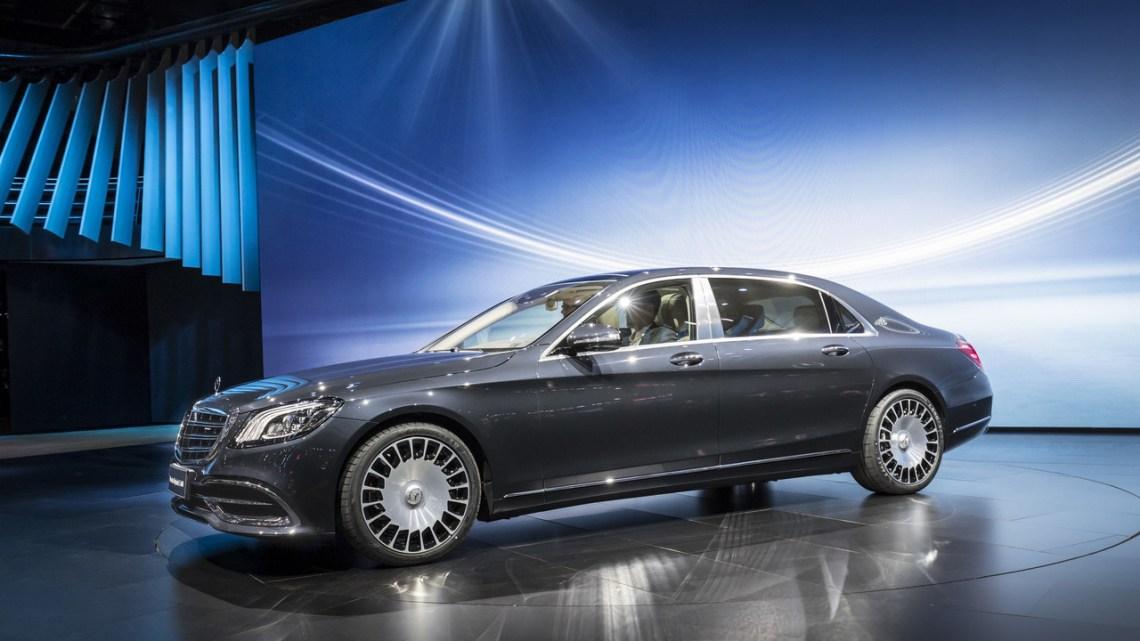 2018 Mercedes-Benz S-Class Coupe exterior