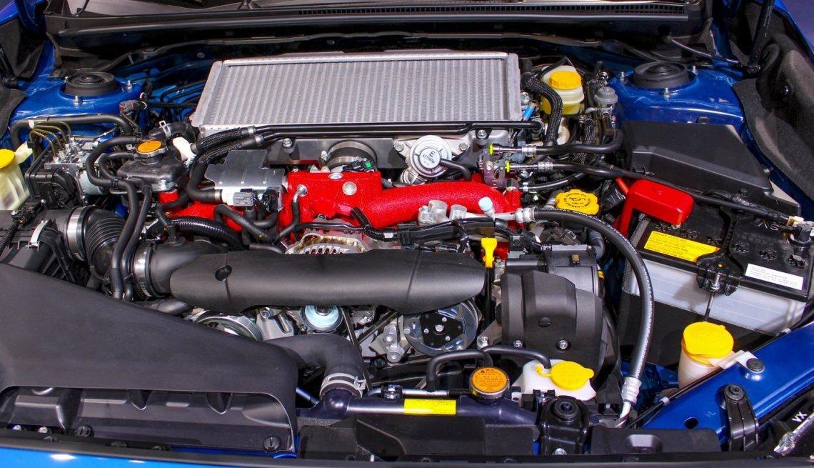 2018 Subaru WRX engine