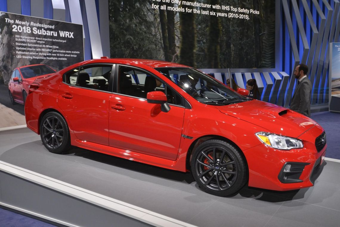 2018 Subaru WRX exterior