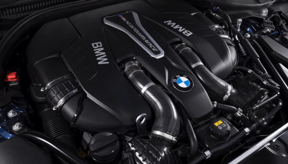 2018 BMW X6 M Engine