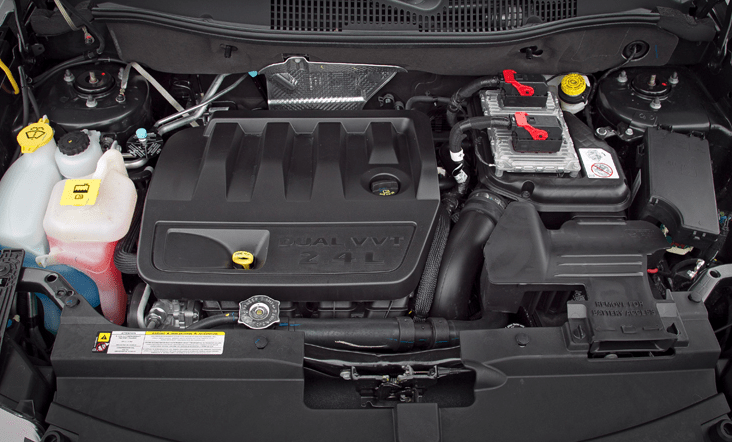 2018 Jeep Compass Engine