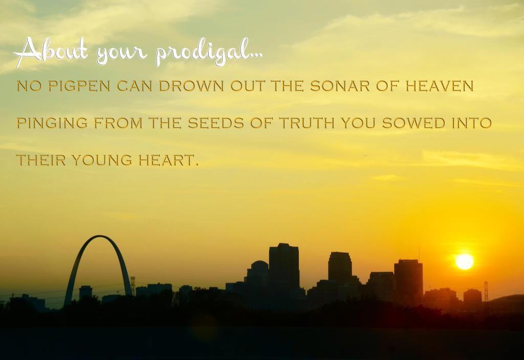 About Your Prodigal