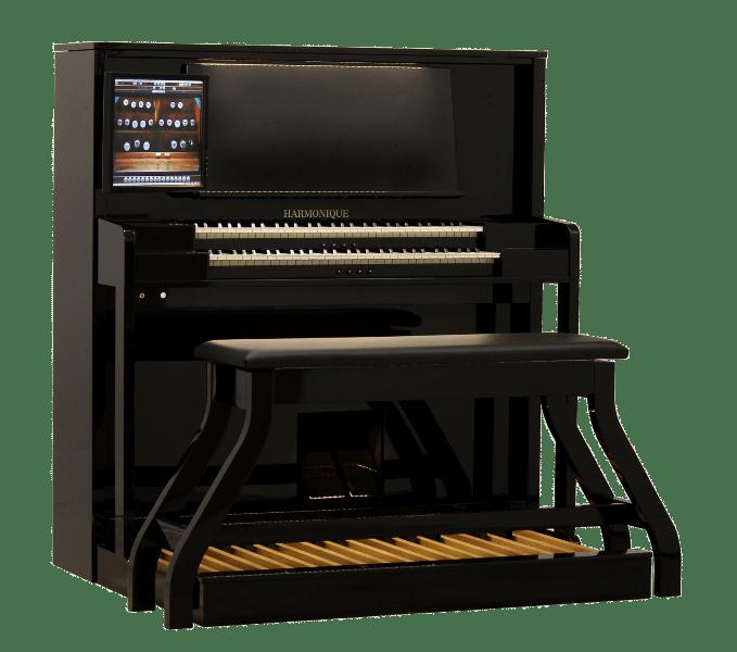 Modern Hauptwerk Organ Harmonique Noorlander Organs