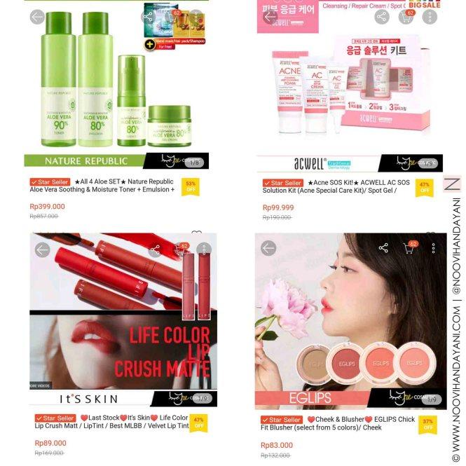 Belanja Produk Korea di Lyne Cosmetics f