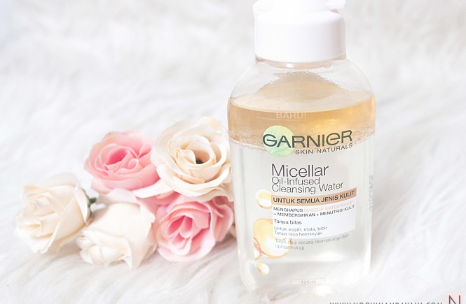 Garnier Oil-Infused Micellar Cleansing Water