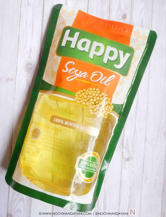 HAPPY SOYA OIL - CARA MEMASAK FETTUCCINE