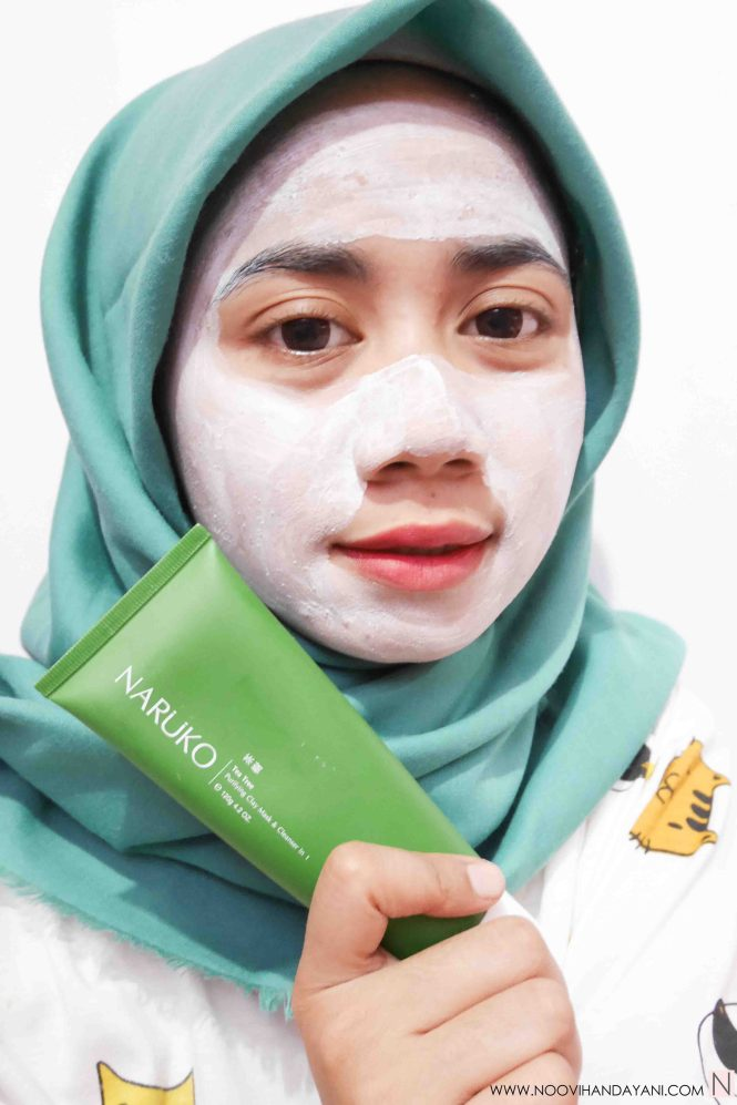 NARUKO TEA TREE CLAY MASK & CLEANSER