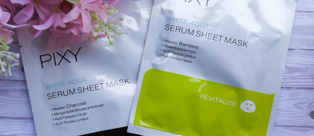 PIXY WHITE-AQUA SERUM SHEET MASK 4