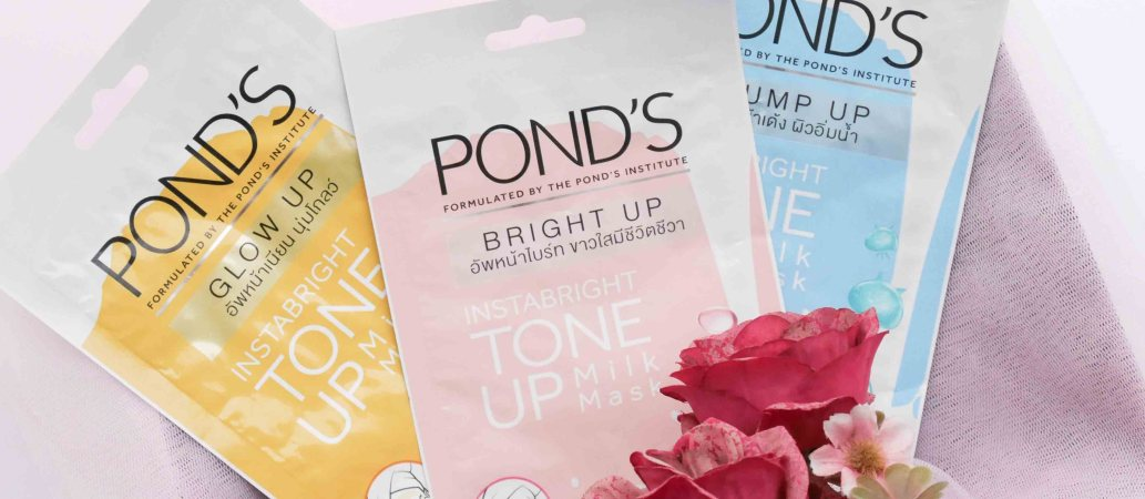 Pond's Instabright Tone Up Milk Mask