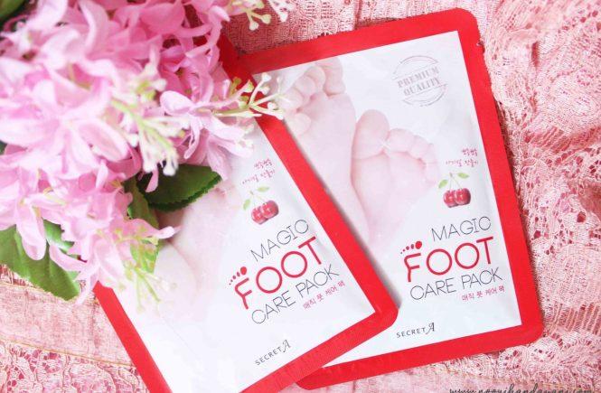 Secret A Magic Foot Mask