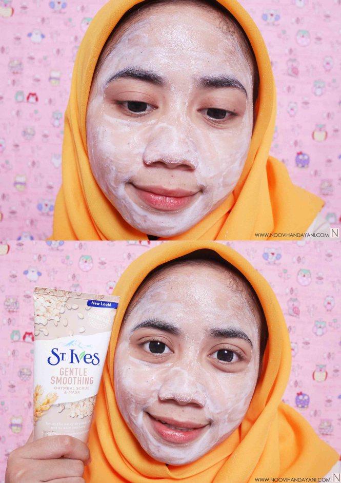 ST. Ives Oatmeal Scrub & Mask