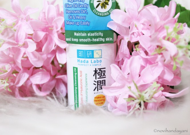 Hadalabo Gokujyun Ultimate Moisturizing Cleansing Oil