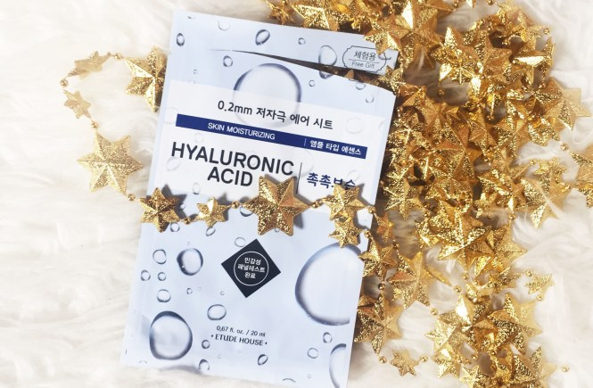 Masker Etude House Hyaluronic Acid