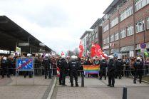 Protest in Sicht- und Hörweite.