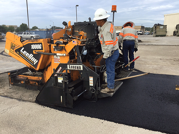 Asphalt paving contractors located in Dallas-Fort Worth & Houston.