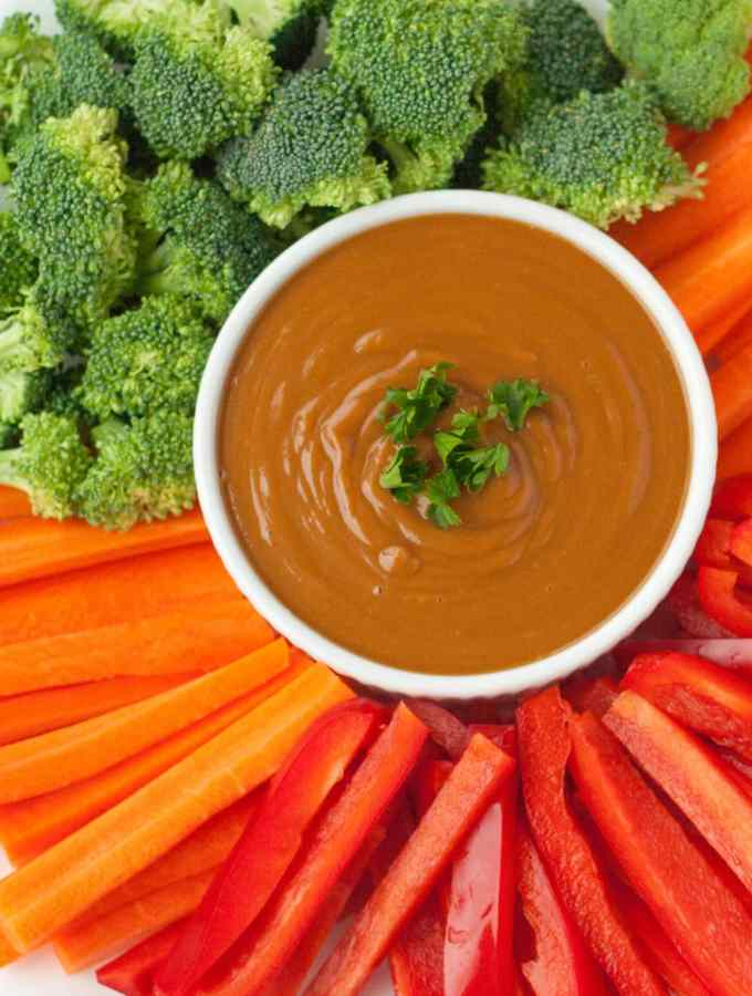 Quick and Easy Asian Peanut Sauce