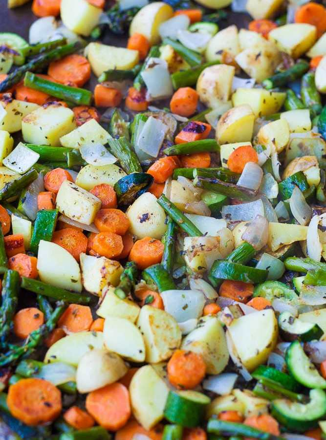 Easy Spring Roasted Vegetables