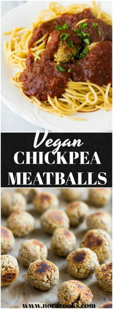 Vegan Meatballs- Chickpea based italian vegan meatballs. Kid-friendly, comfort food classic!