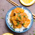Crispy Baked Orange Tofu
