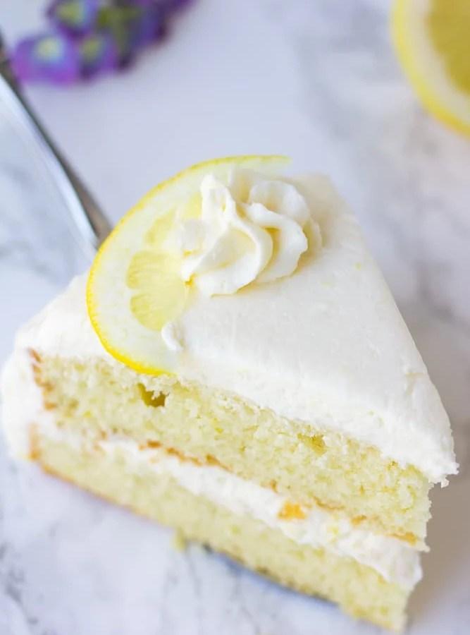 Vegan Lemon Cake Nora Cooks