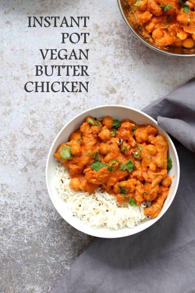 vegan butter chicken