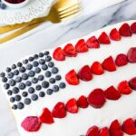 1 Bowl Vegan Flag Cake