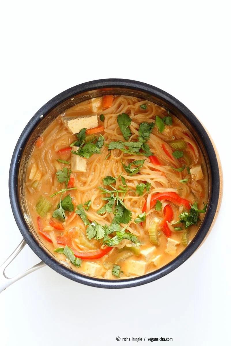 1 pot peanut noodles
