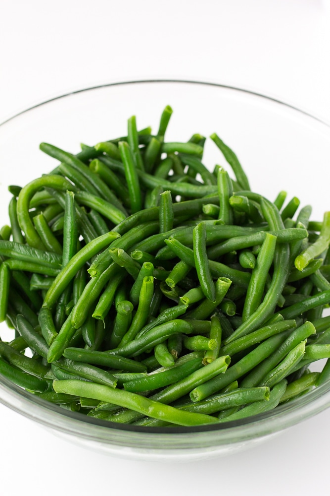 fresh green beans for green bean casserole