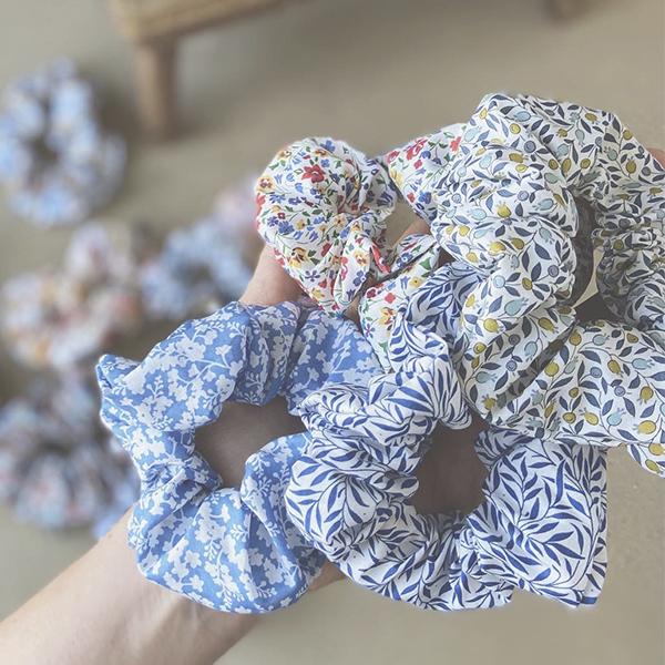 Liberty scrunchies, større