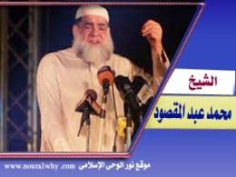 الشيخ محمد عبد المقصود