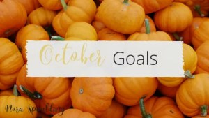 Monthly Goals and Intentions