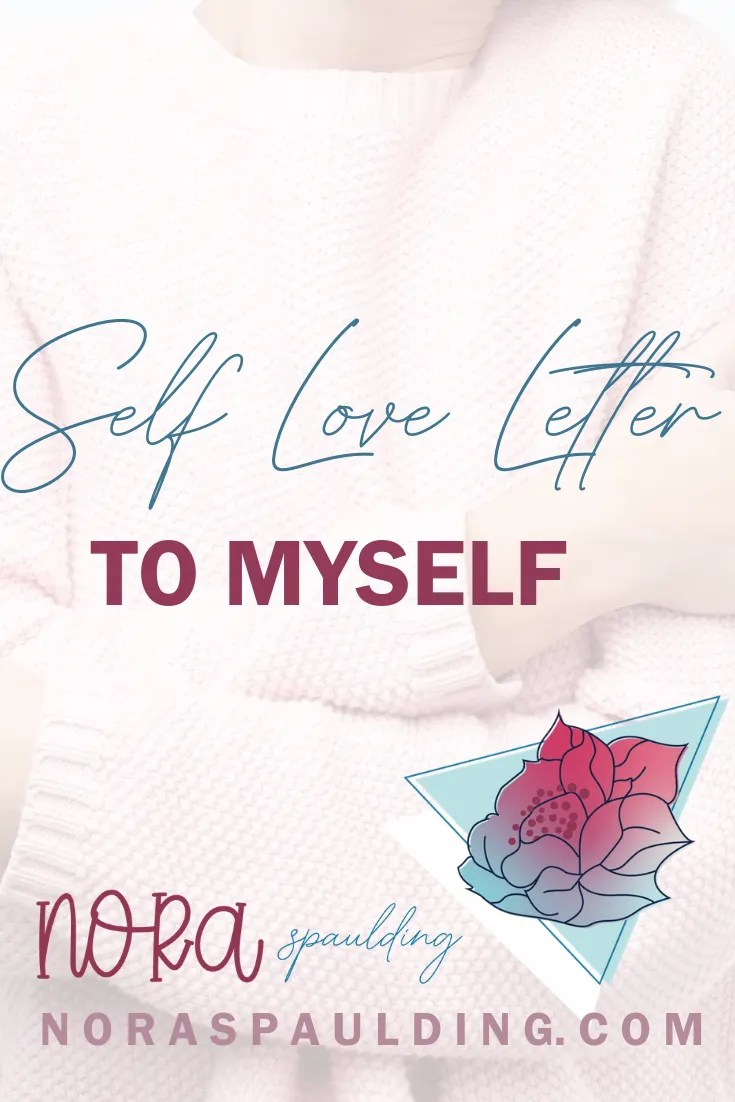 self love letter pin
