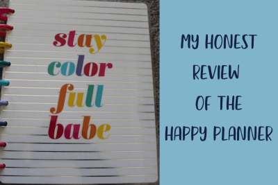 My Honest Review of the Happy Planner