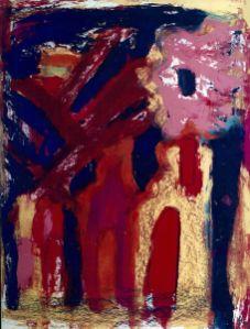 122 Vrede, 1997, 73 x 93 cm, gemengd, 500,-