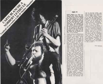 Jazz Magazine, février 1981