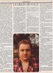 Le Matin de Paris, septembre 1980