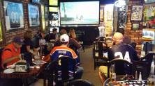 Watching Auburn at Ricky's in the East Bay