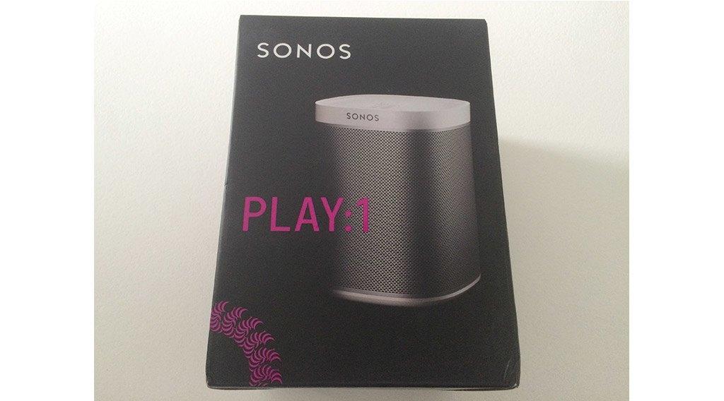 Découverte de l'enceinte connectée Sonos Play 1