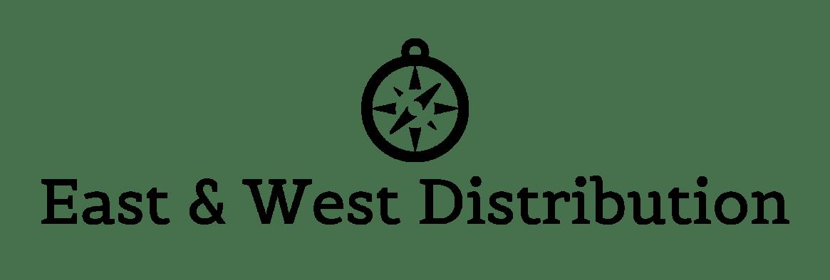 East & West Distribution-logo-black