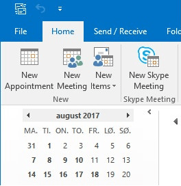 Outlook meeting reservation