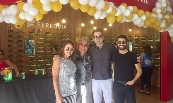 38f0f57c59389 Ferrovia Eyewear inaugura nova loja no RioMar Presidente Kennedy ...