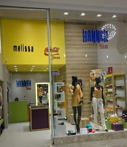 d776c76356ea8 Hannah Vest inaugura loja no Shopping Riomar Kennedy