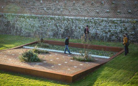 Garten des Friedens in Le Quesnoy, © Yann Monel