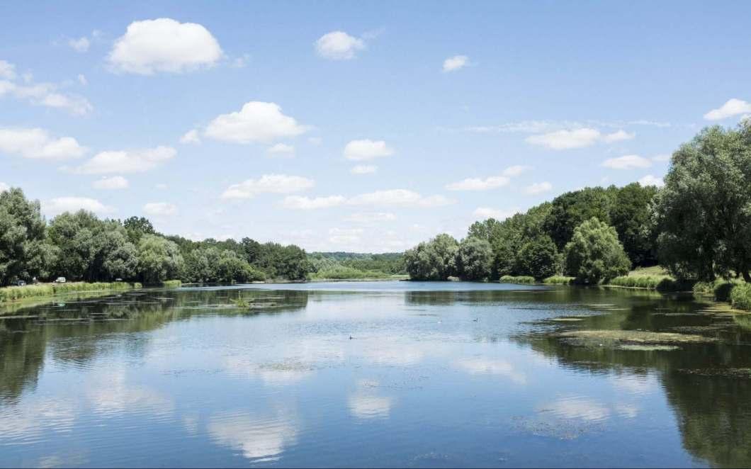Der See von Ailette: Natur & Entspannung