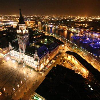 Dünkirchen bei Nacht, © Ville de Dunkerque