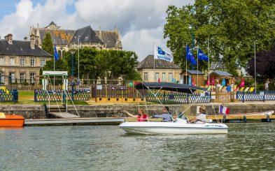 Fluss Aisne in Soissons
