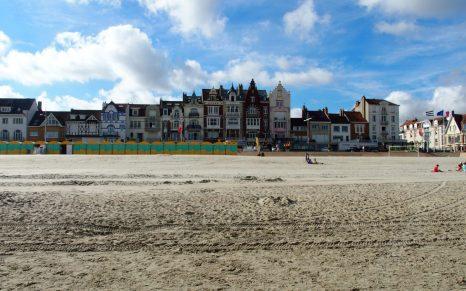 Strand in Malo-les-Bains, © Hilda George
