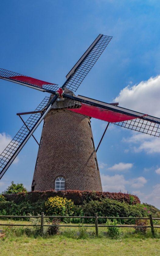 Steinmühle in Terdeghem, © I. D'Hulst / OT Coeur de Flandre