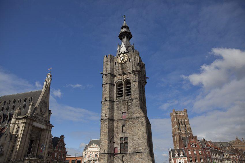 Béthune: Belfried und Glockenspiel