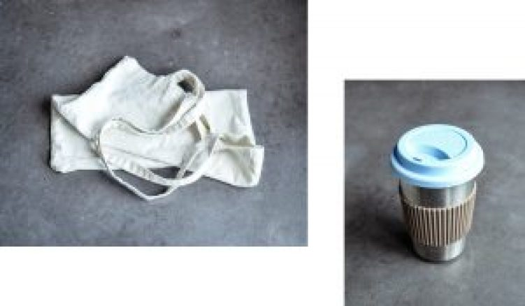Zero Waste coffee and tote bag